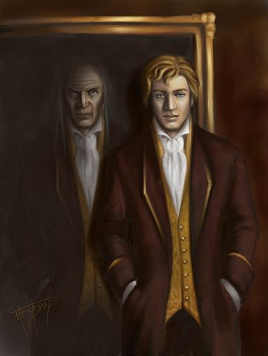 Portrait Of Dorian Gray painting by Mercuralis