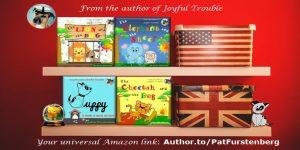 Children's books by Patricia Furstenberg celebrating diversity