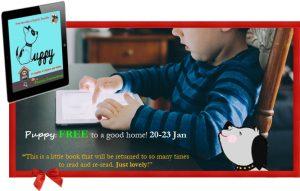 Puppy, free special kids eBook 20-23Jan on Amazon