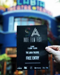 SA Indie Film Fest 2018 entry ticket - courtesy http://saindiefilmfest.co.za/
