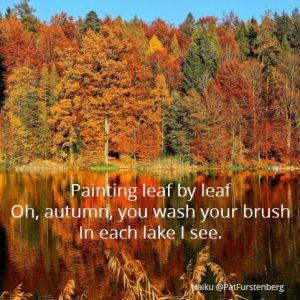 Autumn, a Sunday Haiku: Haiku-San