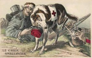 French propaganda postcard of WW1