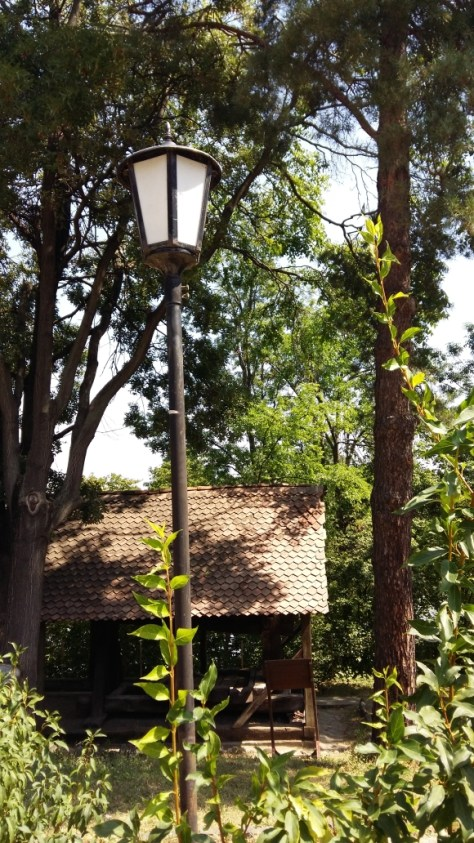 Classical lamp post in Village Museum, Bucharest. Image by @PatFurstenberg