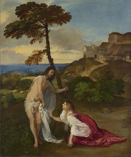 Titian, 'Noli me Tangere', ca 1514