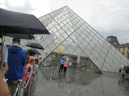 Louvre Museum, Pyramid Entrance - fastest route to see Mona Lisa