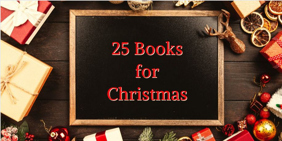 25 books for Christmas, The List