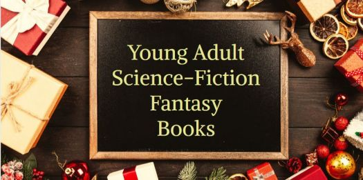 Buy young adult, YA, science-fiction, fantasy books at Christmas. gift ideas, feed your kindle. Books Christmas gift ideas feed your kindle