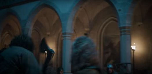 Dragonheart: Battle for the Heartfire  - main courtyard of Corvin Castle
