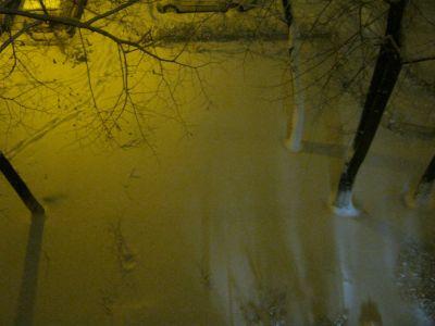 Snowy Night Winter Dream