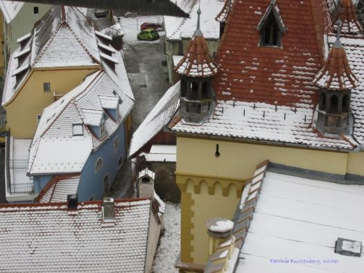 Sighisoara view from the top of the Clock Tower