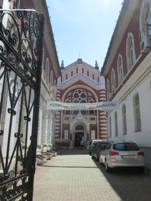 Beth Israel Synagogue in Brasov and the story of a door...