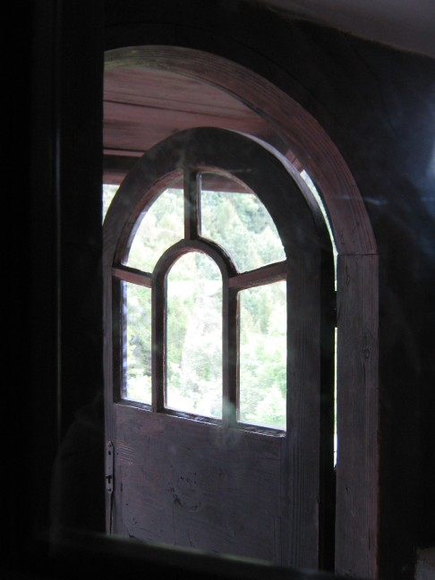Bran Castle, a Historical Door Kept under Key for Centuries. A door  to Heaven