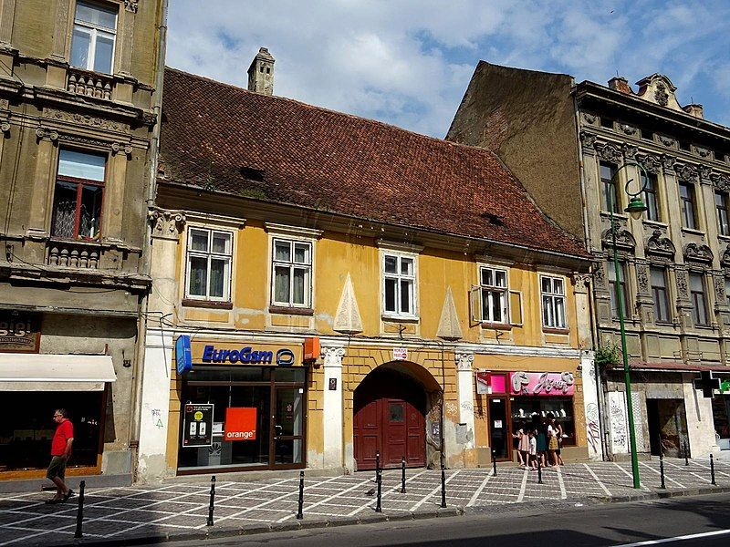 A building in Brasov from 1550