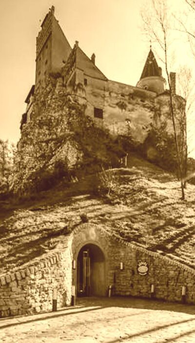 Bran Castle and a secret tunnel down a well