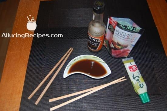 Соус для суши-ролл