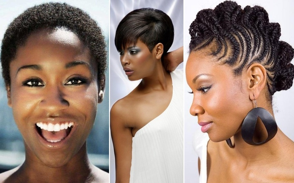 Black Short Hairstyles For Oval Faces Pretty Haircuts
