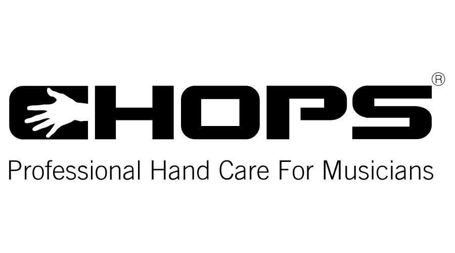 Chops Professional Hand Care for Musicians Logo Download