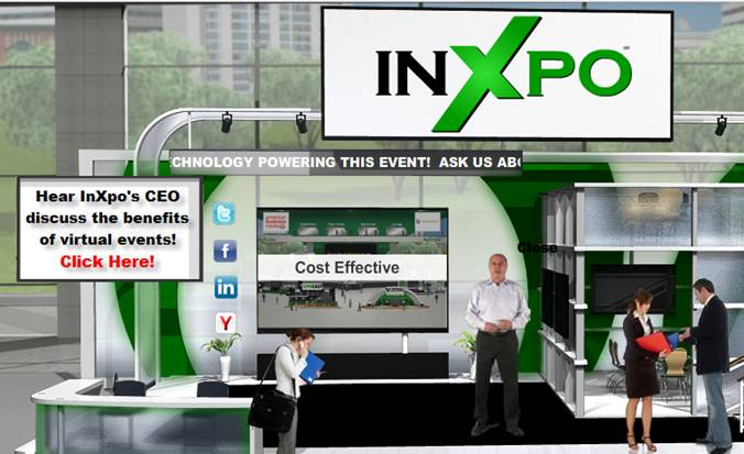 Source: InXpo's booth at MarketingProfs' virtual event