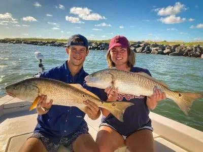 catching redfish in florida