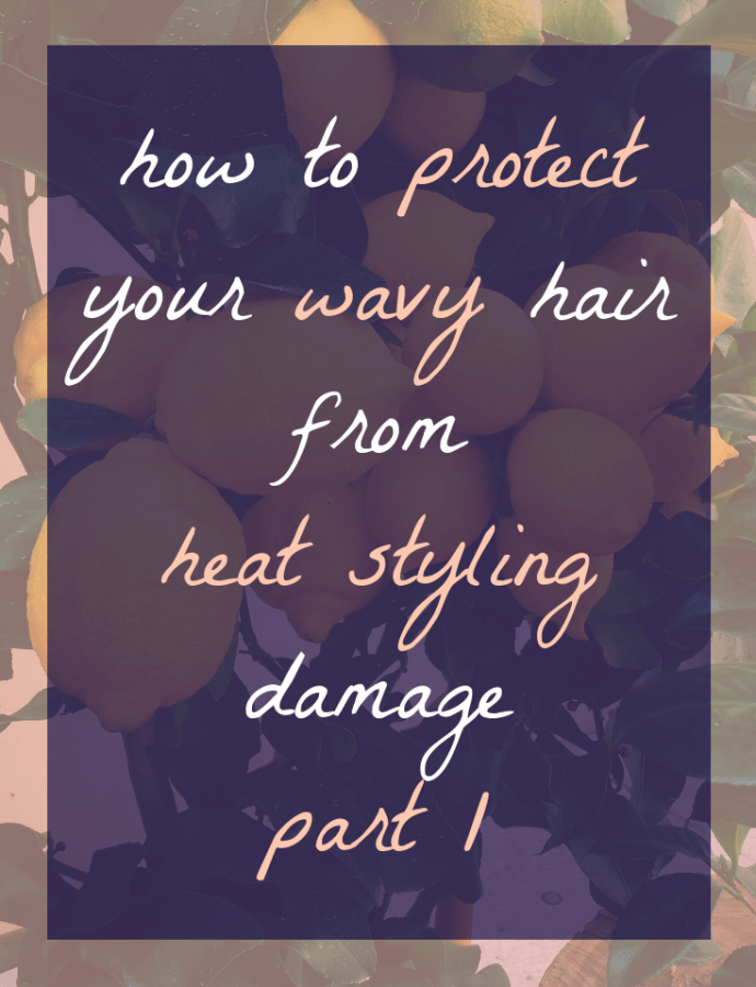 If You're Going to Use Heat on Wavy hair….Make Sure to Do This Before styling