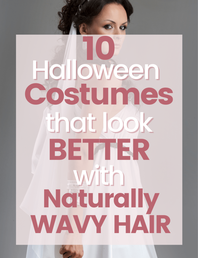 10 Halloween Costumes that Look BETTER with Wavy Hair & Curly Hair | Halloween Wavy Hair Costumes | Curly Hair Halloween