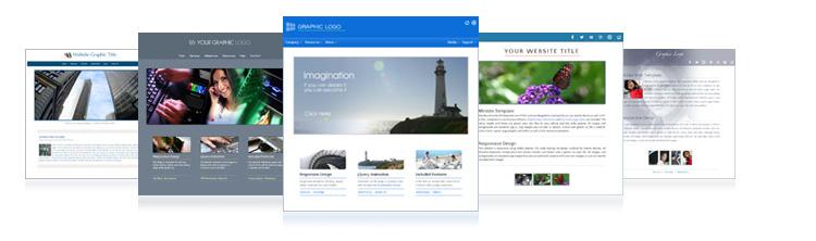 Downloadable HTML Website Templates   Allwebco Design