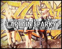 Captain Sparky Halifax Anti Folk