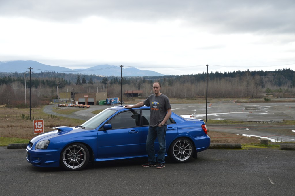 Tim and his 2005 WRX