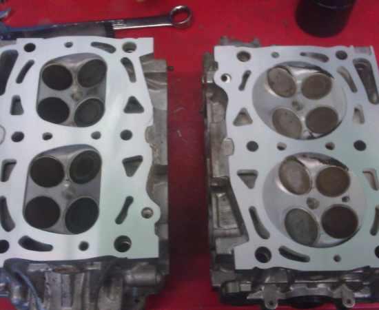 Subaru Cylinder Head Comparison