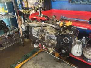 Subaru 2.5l Turbo Tear down