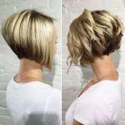creative stacked bob haircut