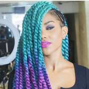 creative & colorful braid hairstyles