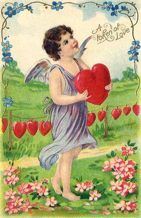 """Картинки по запросу """"поздравительные валентинки прошлых веков"""""""