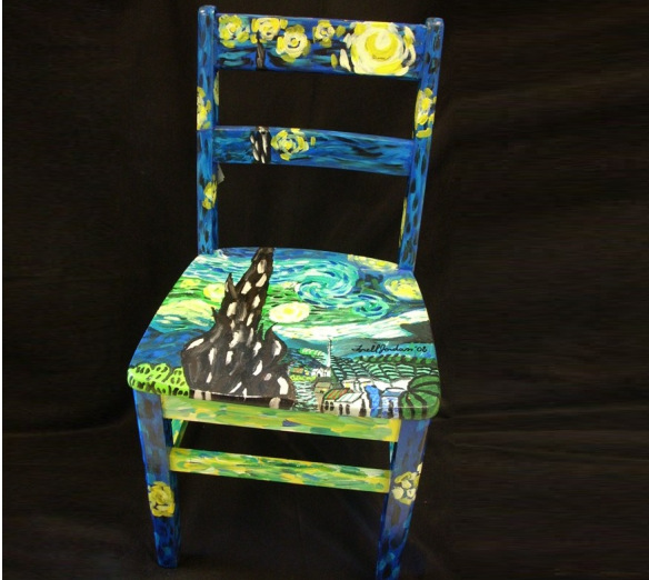 Fundraiser Hand Painted Chairs Auction  Allwood Courier