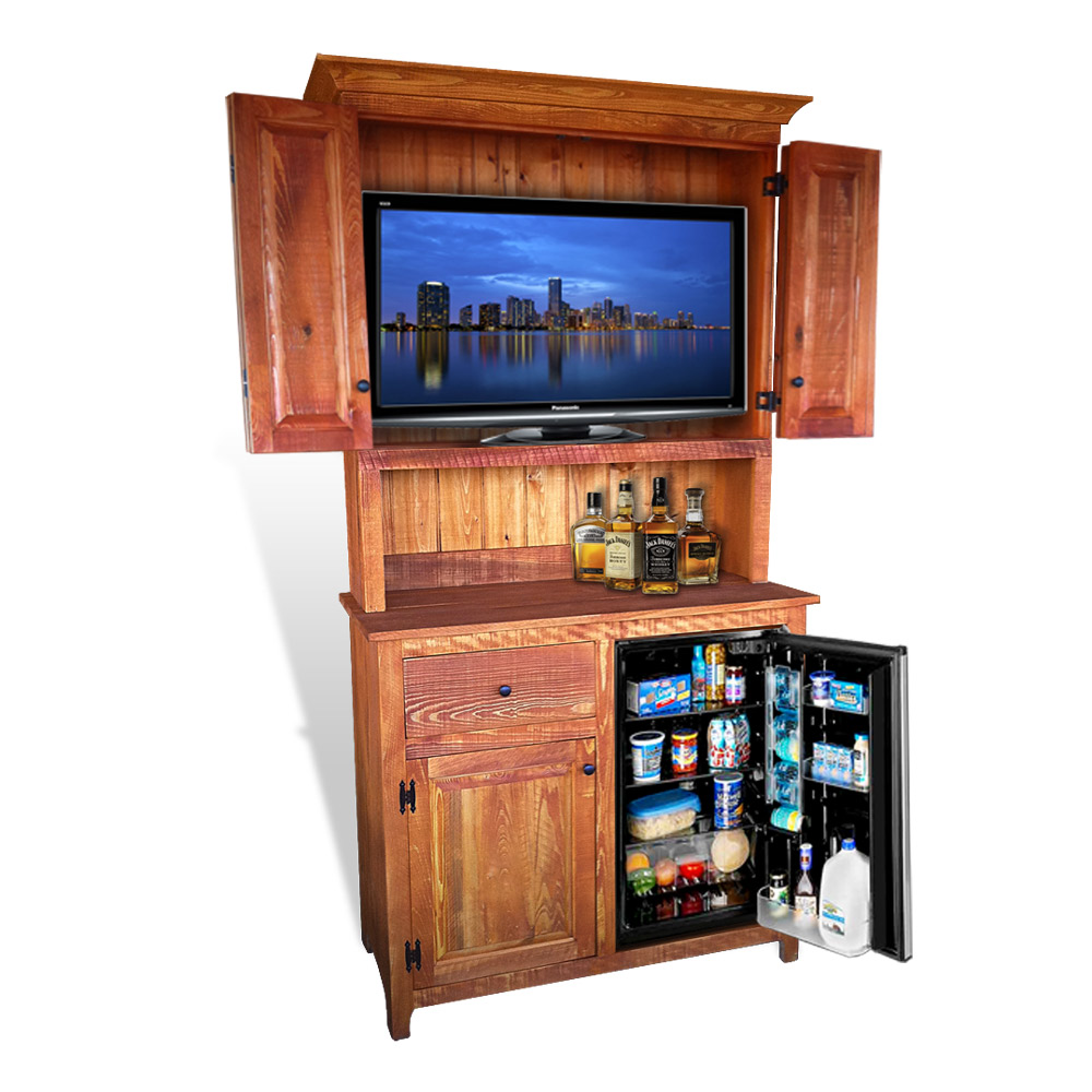 Outdoor tv backyard tv tv custom tv tv lift tv enclosure - Rustic Shaker Outdoor Tv Stand No