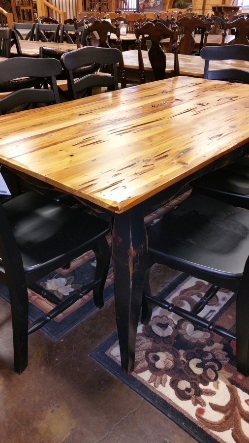 6 Old Pecky Cypress Table  UL Store UL64 In Stock  ALL
