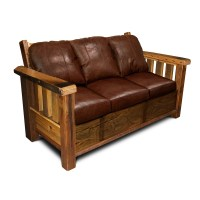 Rustic Barnwood Sofa