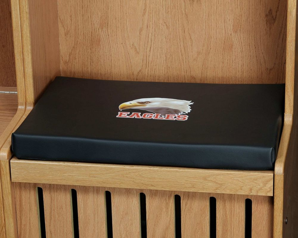 Seat Cushions for Wood Sports Lockers