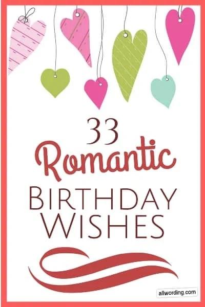 Birthday Sayings For Boyfriend : birthday, sayings, boyfriend, Romantic, Birthday, Wishes, Sweetie, Swoon, AllWording.com