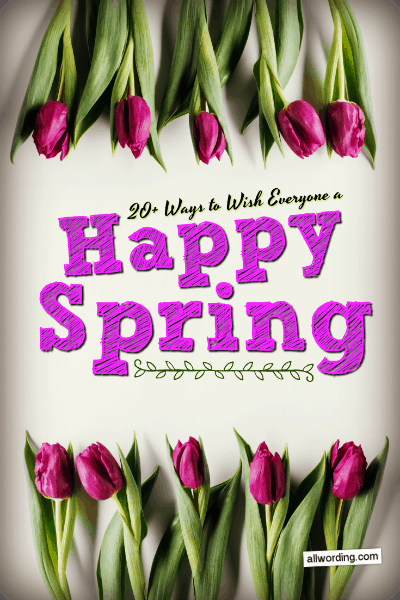 Images Of Happy First Day Of Spring : images, happy, first, spring, Everyone, Happy, First, Spring, AllWording.com