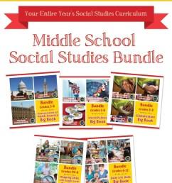 Middle School Social Studies Bundle - Grades PK to 12 - eBook - Lesson Plan  - Classroom Complete Press [ 1283 x 900 Pixel ]