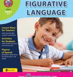 Figurative Language - Grades 4 to 6 - Print Book - Lesson Plan - Classroom  Complete Press [ 1125 x 900 Pixel ]
