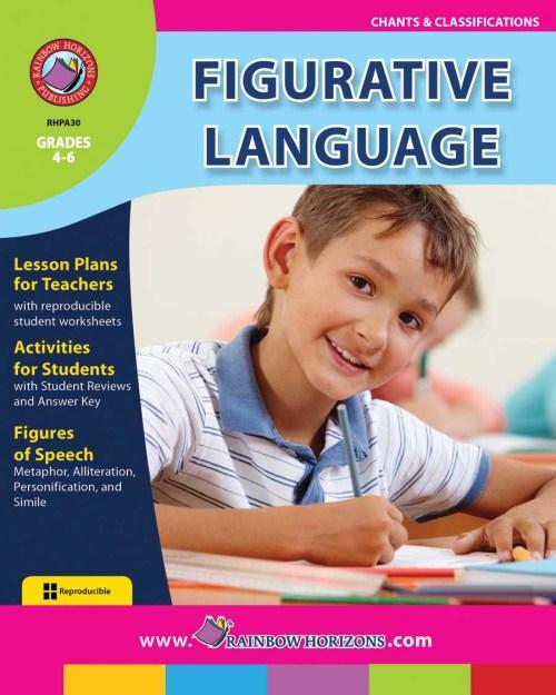 small resolution of Figurative Language - Grades 4 to 6 - Print Book - Lesson Plan - Classroom  Complete Press