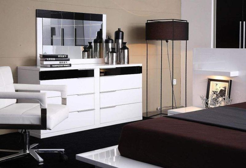 Find 5 Cheap Modern White Dressers and Modern Black Dressers for Your Bedroom  All World Furniture