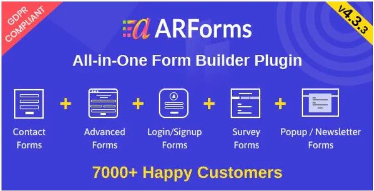Read more about the article ARForms 5.5.1 Nulled – WordPress Form Builder Plugin
