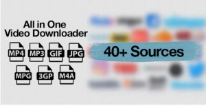 Read more about the article All in One Video Downloader 1.14.0 NULLED – Video Download Script