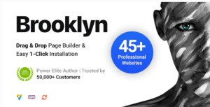 Read more about the article Brooklyn 4.9.6.6 Nulled – Creative Multi-Purpose Responsive WordPress Theme