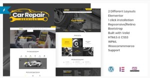 Read more about the article Car Repair Services 4.1 Nulled – Auto Mechanic WordPress Theme