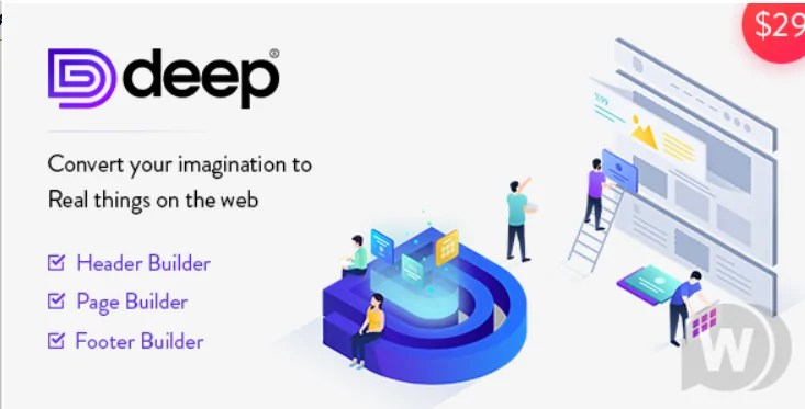 Read more about the article Deep 5.0.0 NULLED – Premium Template For WordPress
