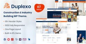 Read more about the article Duplexo 3.0 – Construction Renovation WordPress Theme